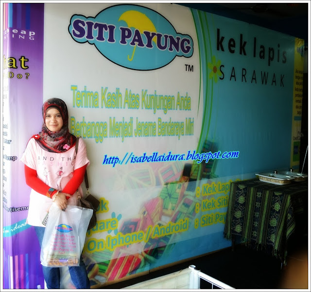 Kek lapis miri, Kek lapis Sarawak, kek lapis Siti Payung