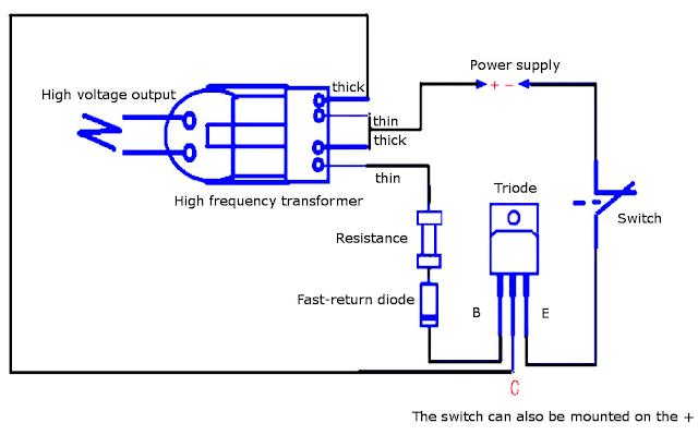 générateur haute tension 15 kV DIY promo