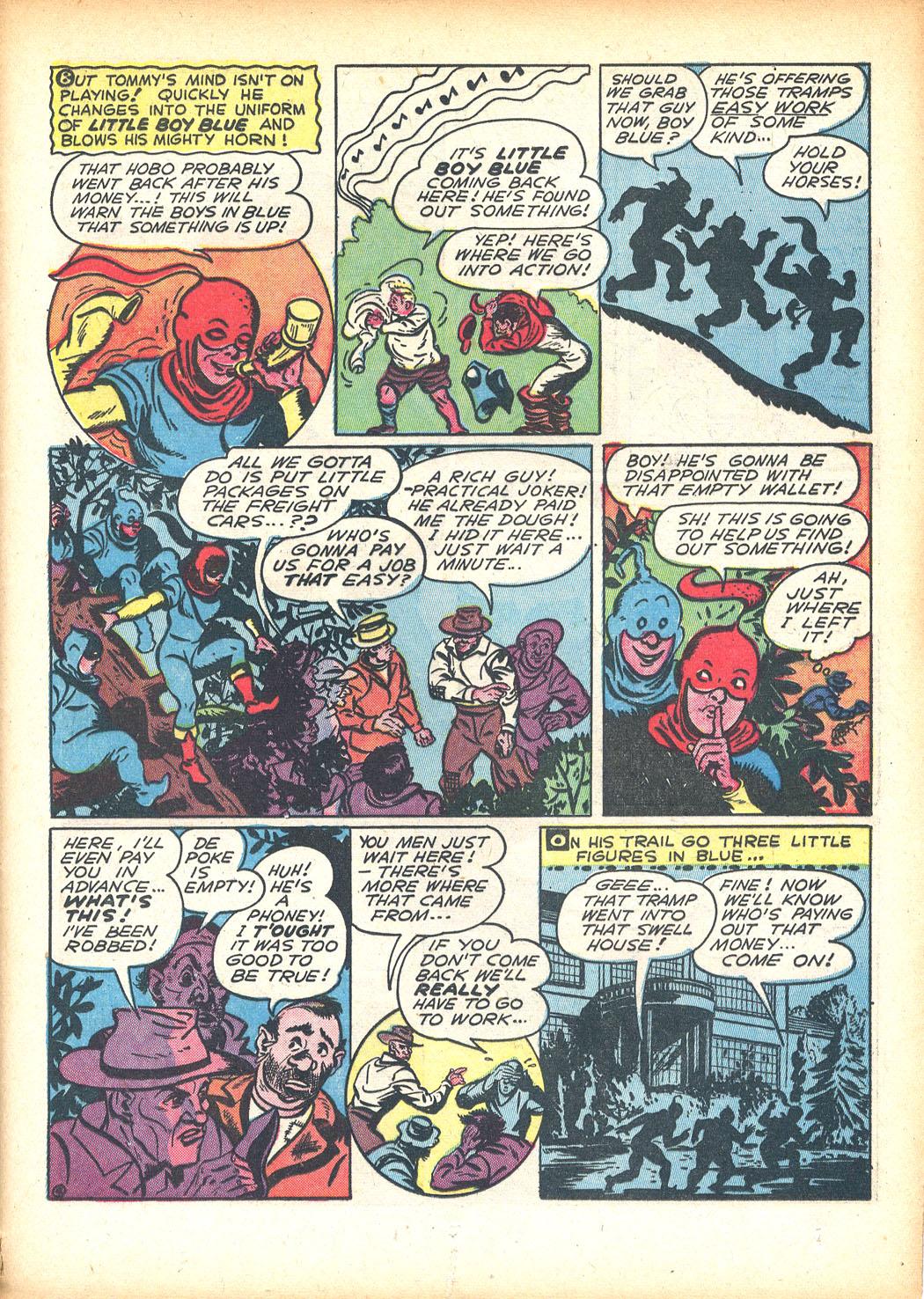 Read online Sensation (Mystery) Comics comic -  Issue #13 - 49