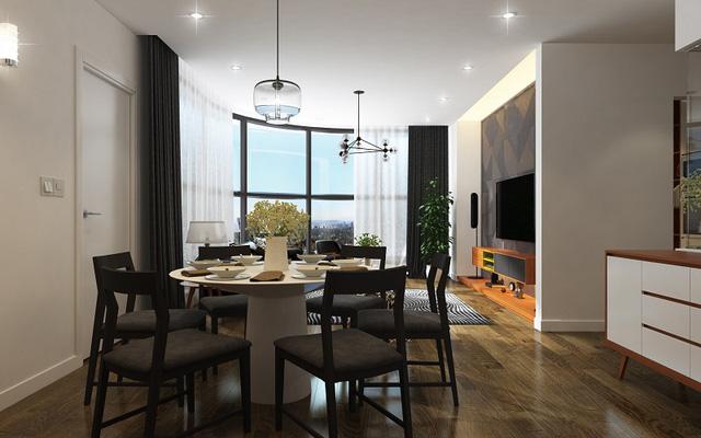Không gian sống tiện ích, sáng tạo tại các căn hộ dự án.