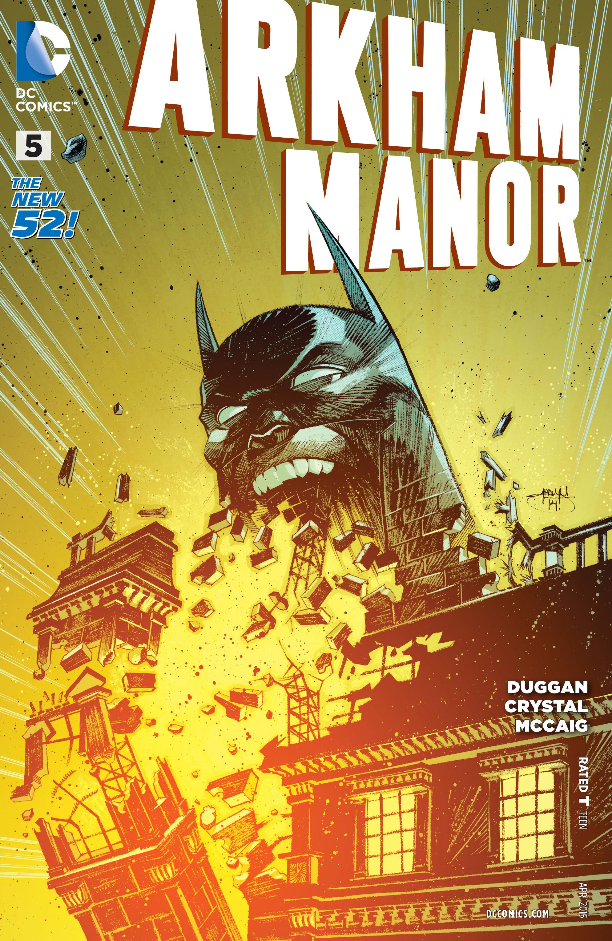 Read online Arkham Manor comic -  Issue #5 - 1