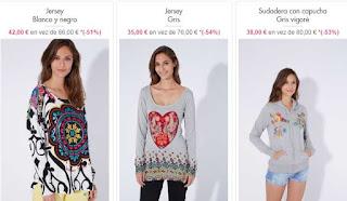 jerseis para mujer en oferta