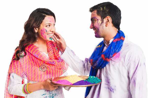 Romantic Holi Wishes Message Quotes For Wife