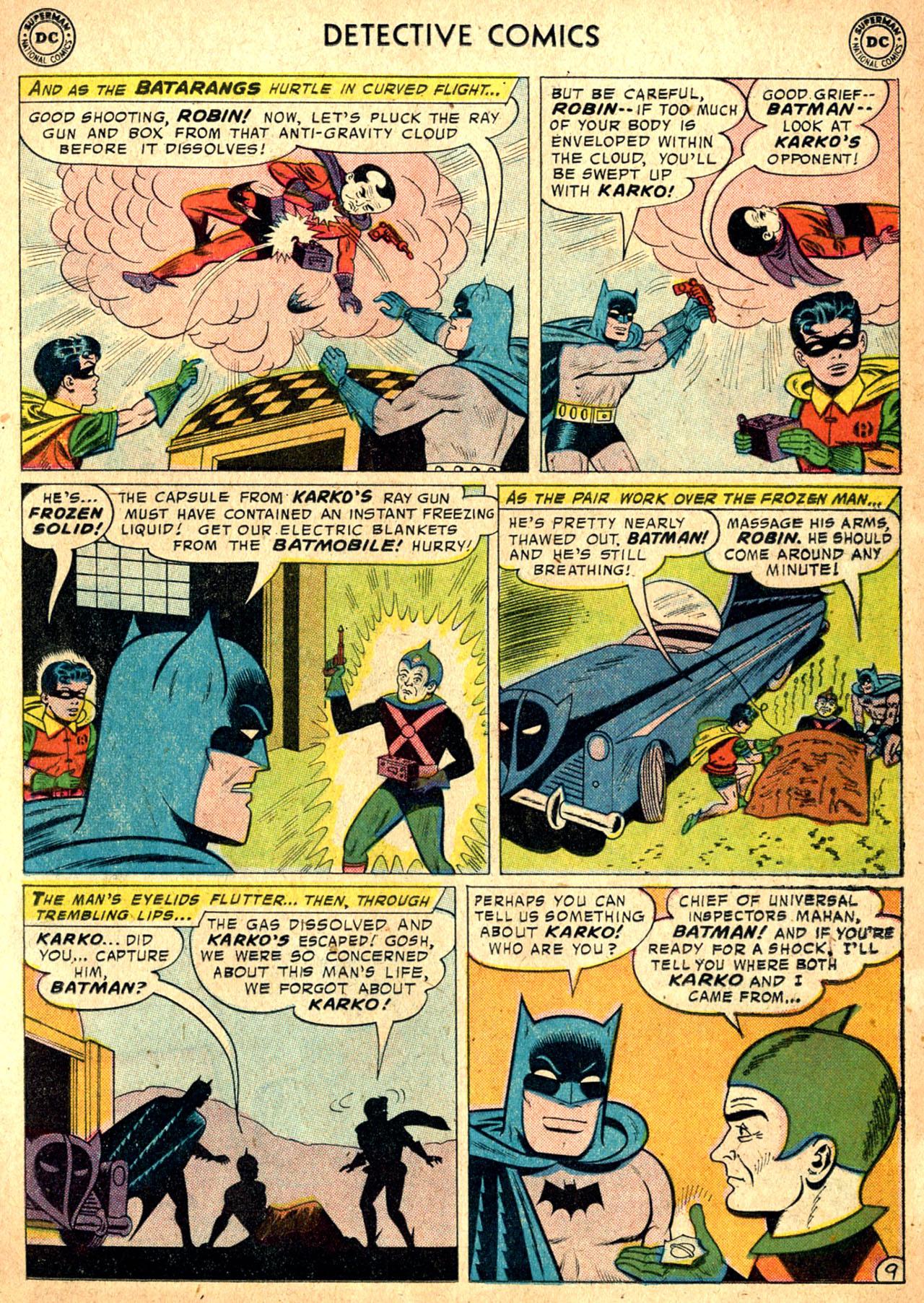 Read online Detective Comics (1937) comic -  Issue #257 - 11