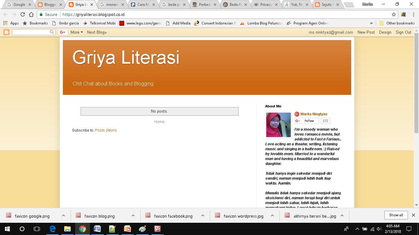 cara membuat dan menampilkan page di blogspot sebelum tampil