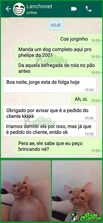 É SÓ DE BRINCADEIRA...
