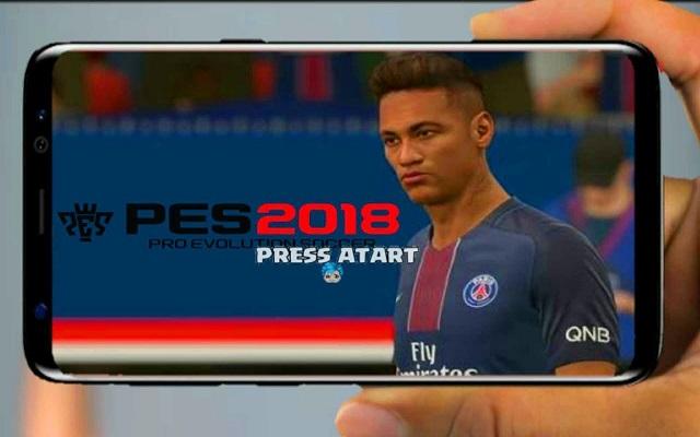 حمل لعبة pes 2018 الجديدة على هاتفك الأندرويد بآخر تحديث انتقال نيمار لباريس سان جرمان