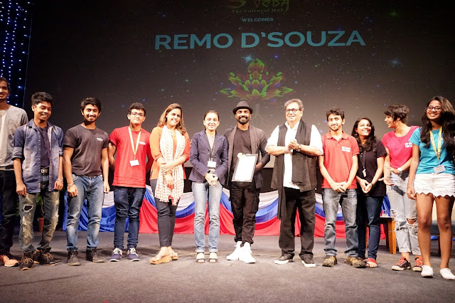 """Patience and practice are the biggest keys to success"", advised the celebrated dance legend Remo D'Souza to students of Whistling Woods International"