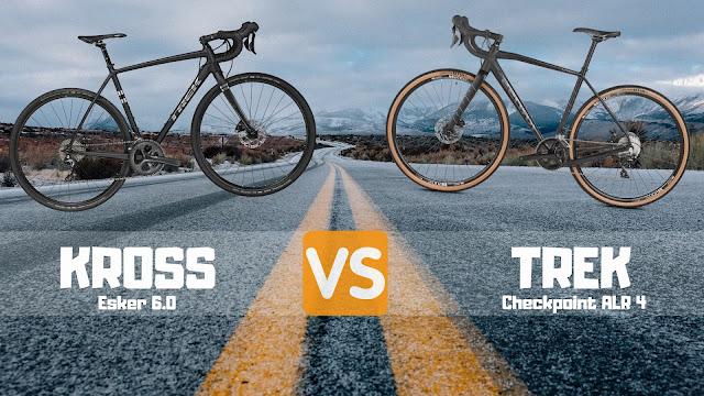 Kross Esker 6.0 czy TREK Checkpoint ALR 4 - rower gravelowy 2019