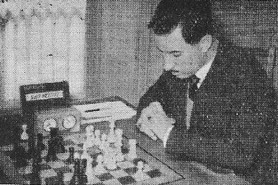 El ajedrecista César San Vicente