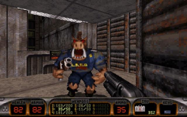 Duke Nukem 3D PC Games Screenshots