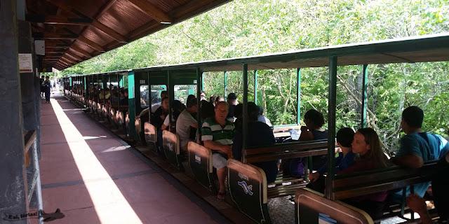 Trem da selva, Parque Nacional Iguazu, Puerto Iguazu, Argentina, Cataratas do Iguaçu