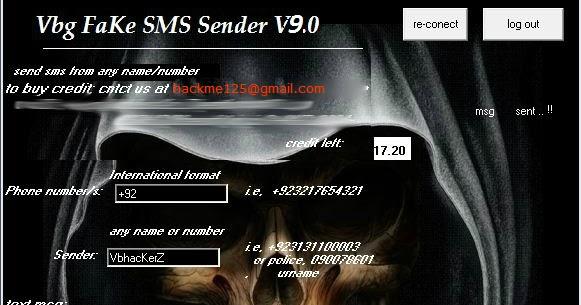 Vbg Fake SmS Sender By Vb_HackerZ V7 0 | Pakistan Hacking Forum