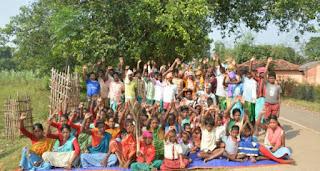 santhal-protest-dumka