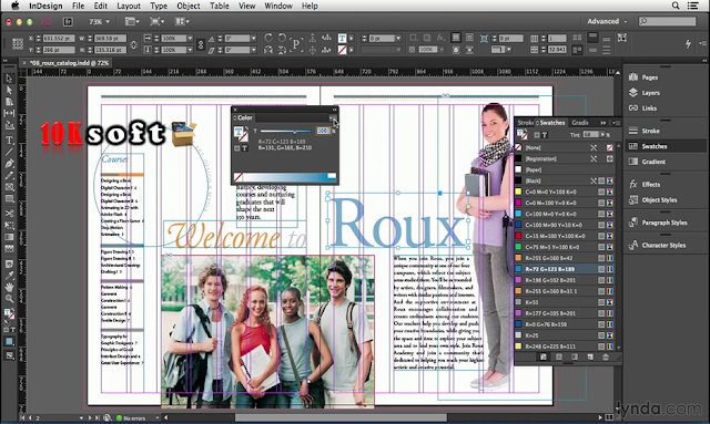 Adobe InDesign CC 2017 DMG File for Mac OS Latest Version Free Download