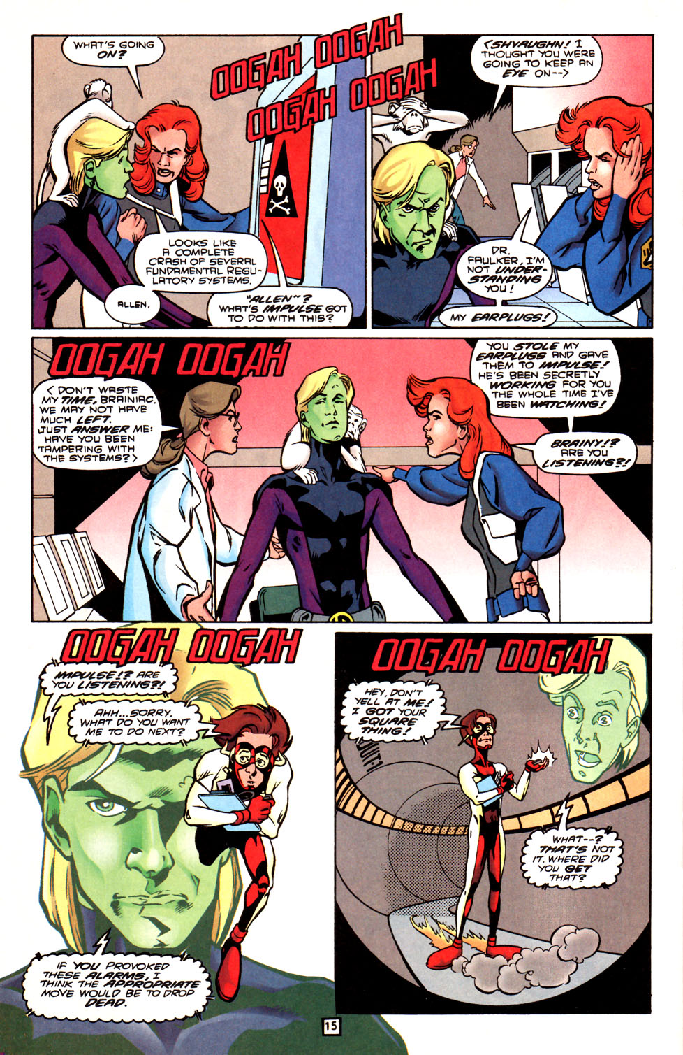 Legion of Super-Heroes (1989) 88 Page 15