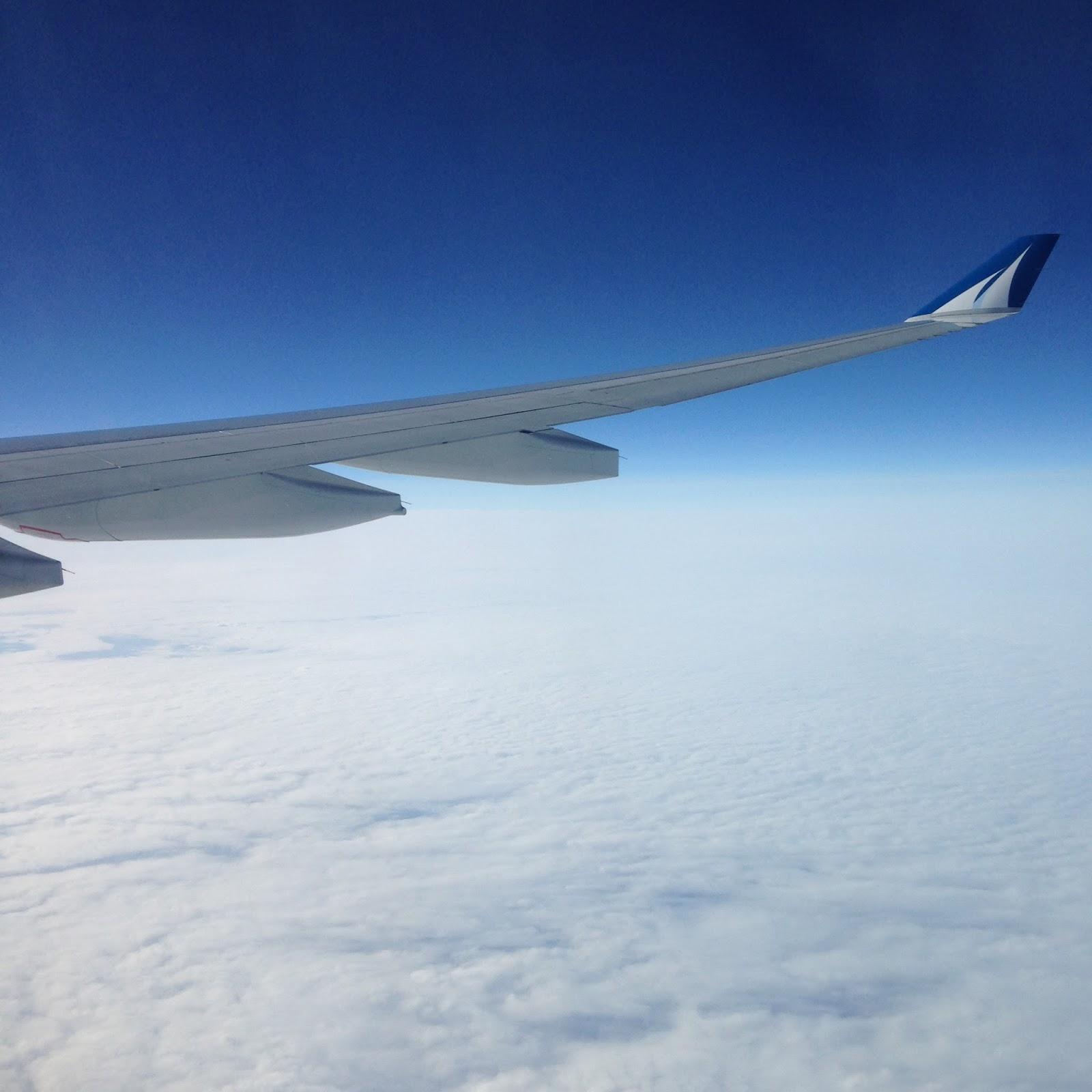 aile avion nuage corsair