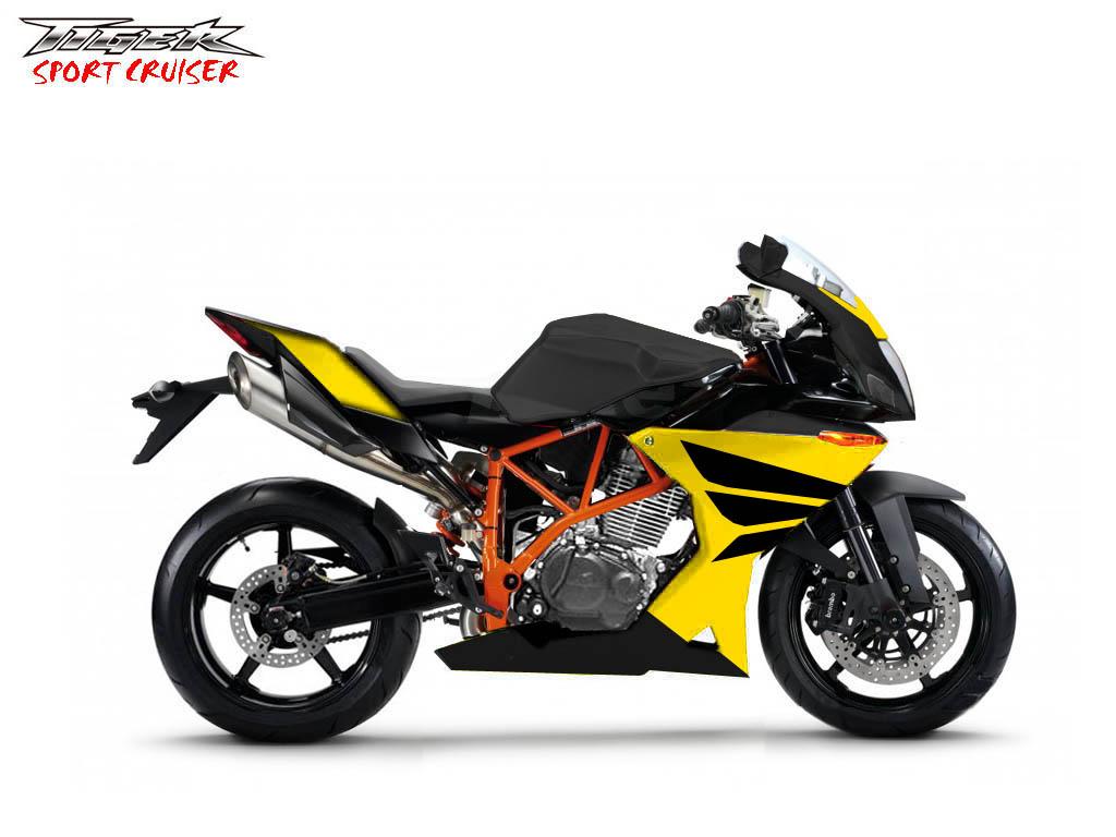 MODIF MOTOR: Honda Tiger