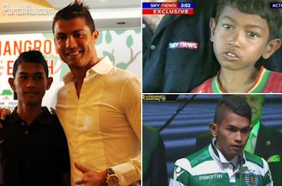 Cristiano Ronaldo datang  ke Aceh