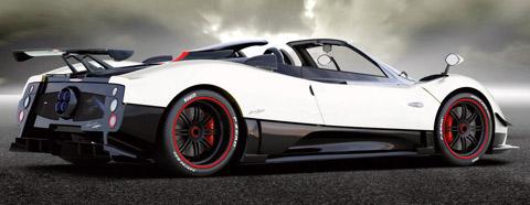 Cinque 2009 Pagani Zonda Roadster The Most Expensive Car
