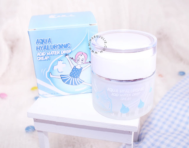 Review Aqua Hyaluronic Acid Water Drop Cream Elizavecca