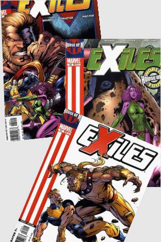 House of M: Exiles #69 - #71 PDF