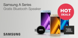 Samsung A series Gratis Bluetooth Speaker JBL GO
