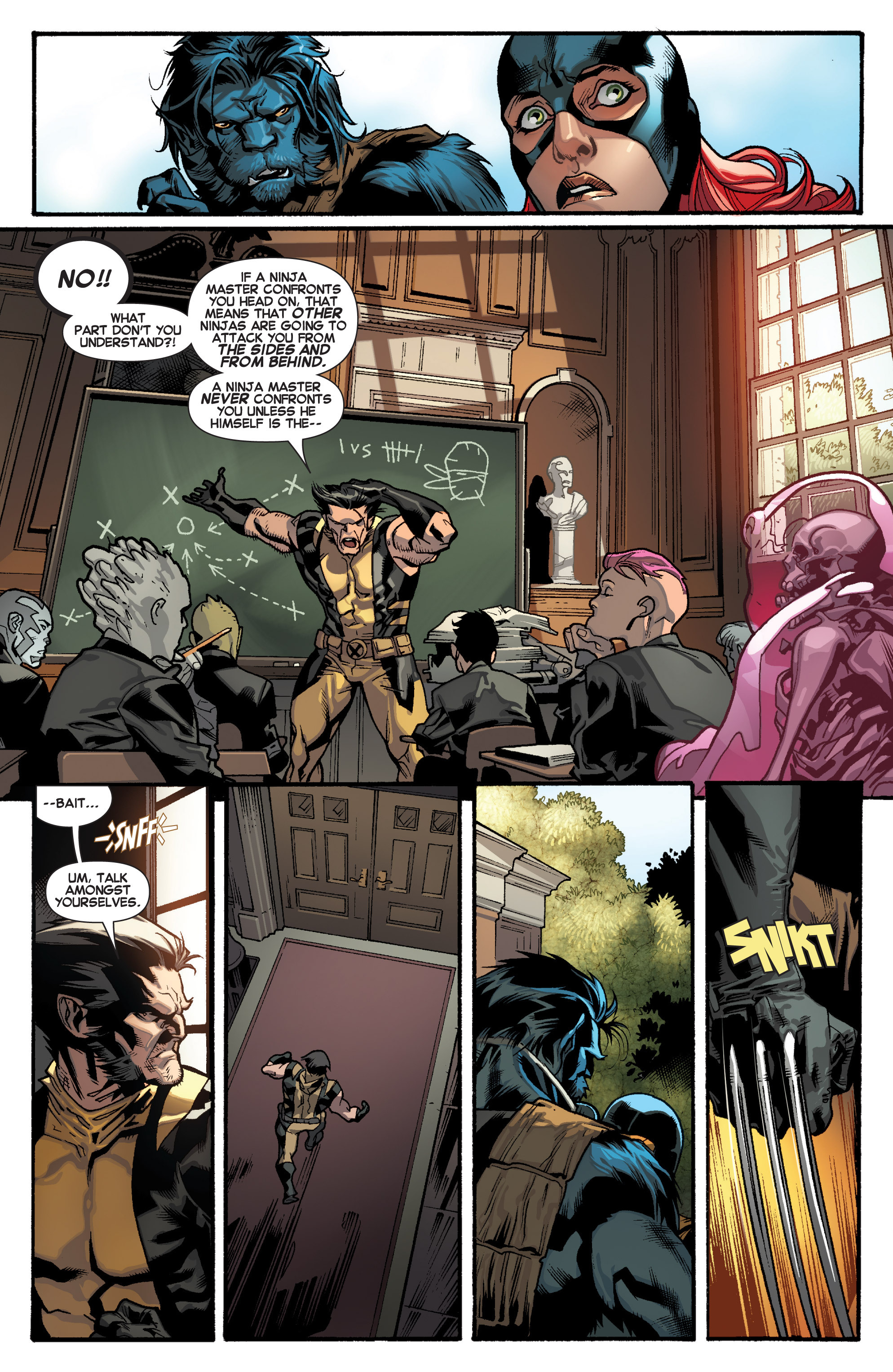 Read online All-New X-Men (2013) comic -  Issue # _Special - Yesterday's X-Men - 37