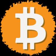 bitcoin social button