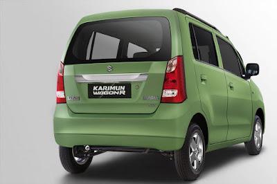 Maruti Suzuki Wagon R Green rear Image