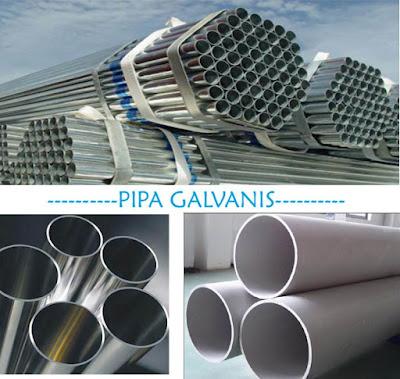 Pipa Galvanis Jakarta Termurah