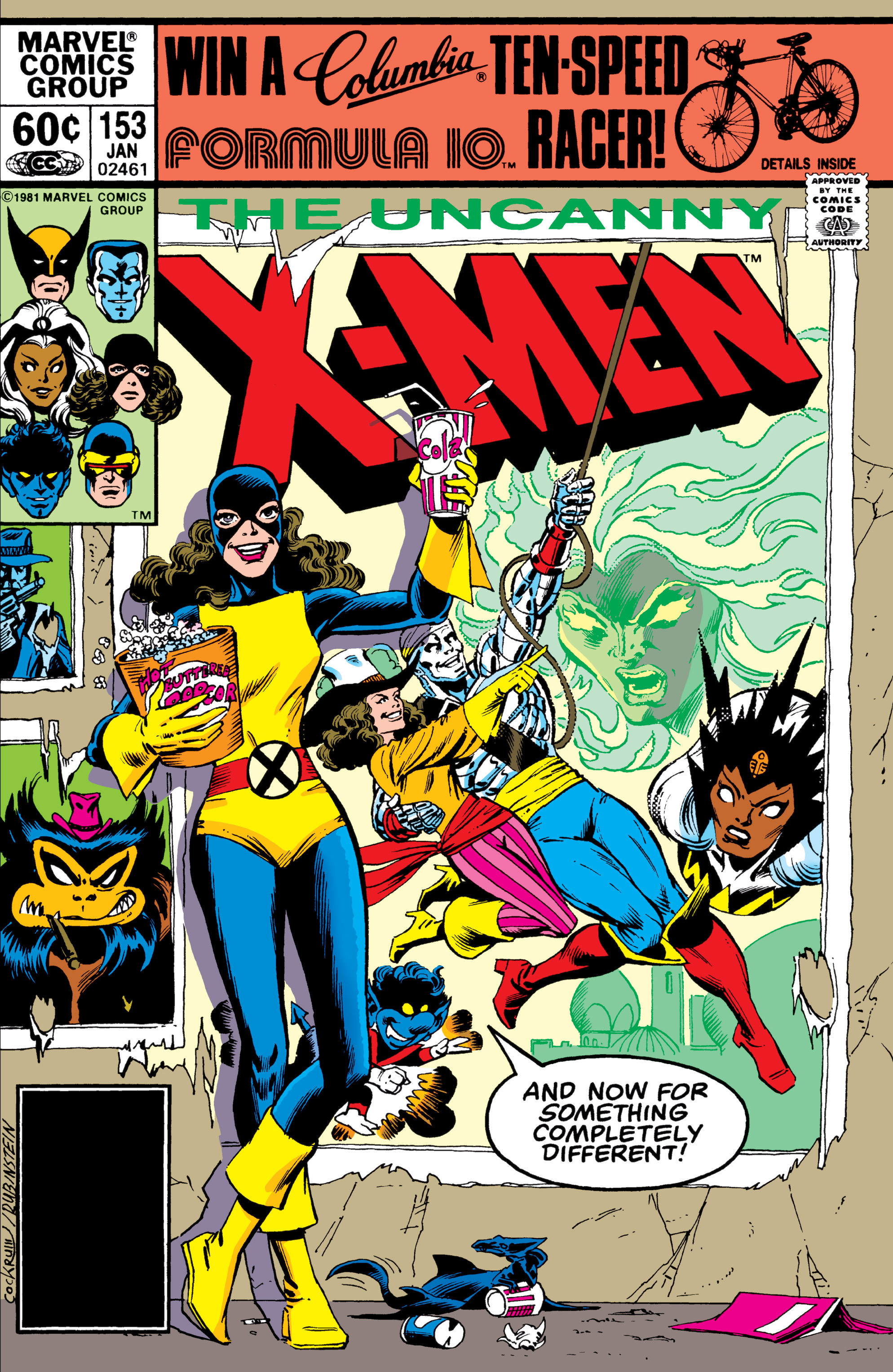 Uncanny X-Men (1963) 153 Page 1