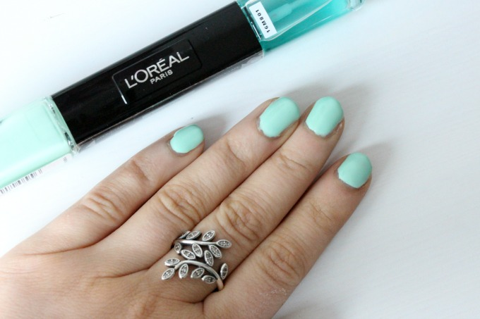 How I\'m Strengthening my nails after Acrylics - BekyLou