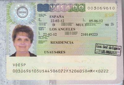 Bev Spanish Visa