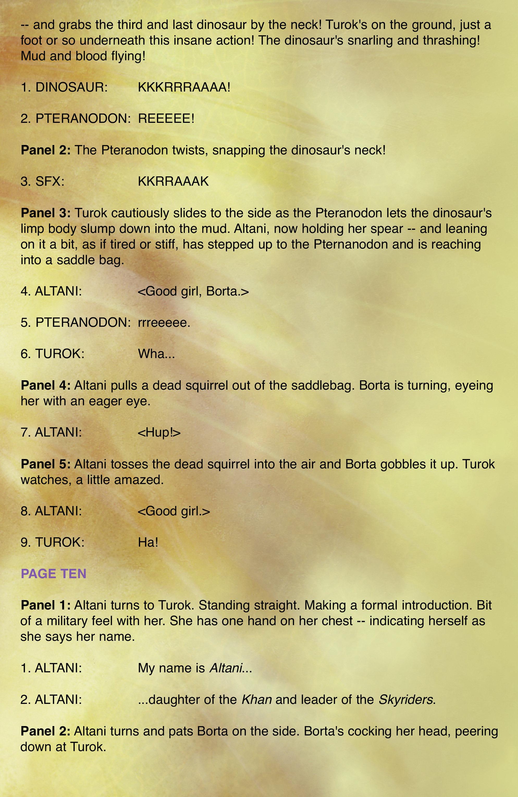 Read online Turok: Dinosaur Hunter (2014) comic -  Issue # _TPB 2 - 95