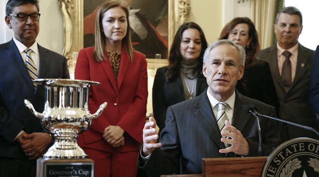 For 7th straight year, Texas wins Governor's Cup for economic development