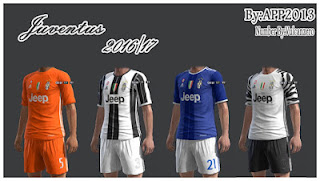 PES 2013 Kits Juventus 2016-17 by APP2013