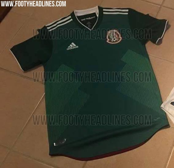 32ef6dbd0 Adidas 2018 World Cup Home Jerseys To Be Released On November 6 2017.  Mexico s ...