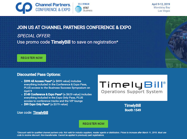 Join Us at Channel Partners 2019