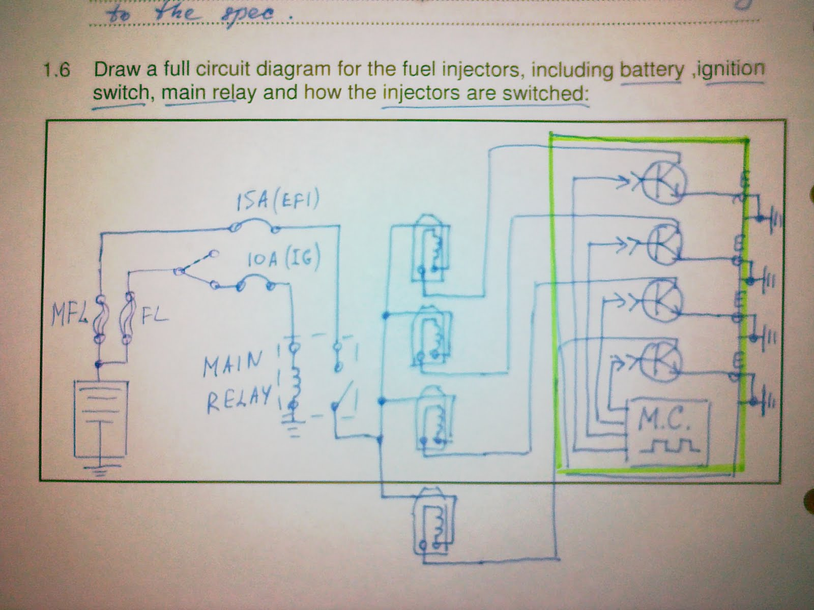 small resolution of 2005 corolla fuel injection wiring diagram
