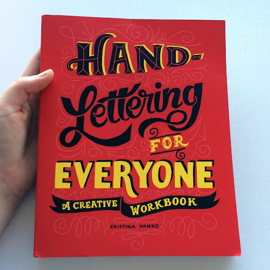 scientific culture: Review: Hand Lettering for Everyone: a creative workbook
