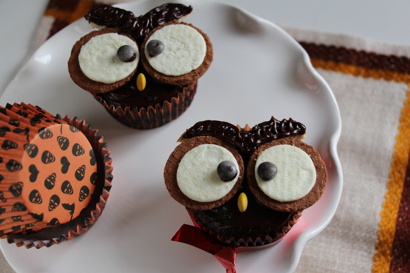 The Doctor S Kitchen Owl Cupcakes