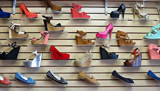 Lugares para comprar sapatos em Los Angeles