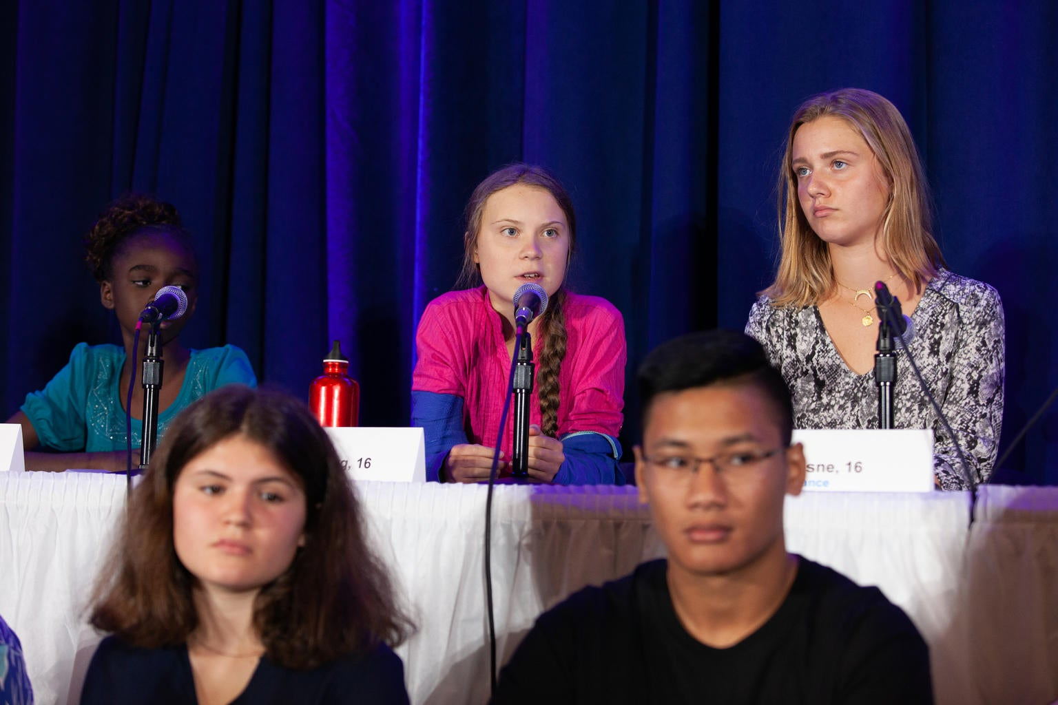 16 Children From Across The Globe File Climate Complaint With The United Nations