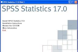 Cara Mengatasi Permasalahan (Error) Pada Aplikasi SPSS 17.0
