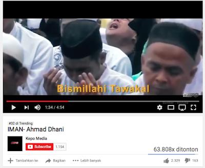 """Lagu """"IMAN"""", Mistifikasi Politik Ala Ahmad Dhani"""