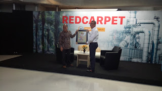 Wawako Payakumbuh Tampil Diacara Talk Show Red Carpet Tempo Channel
