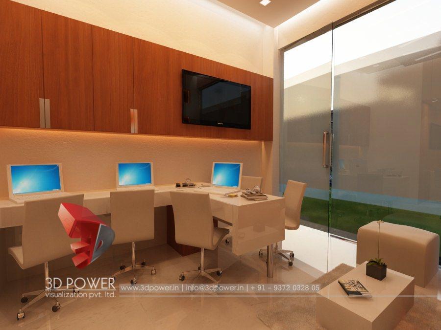 3d interior designs interior designer office designs for Director office interior design