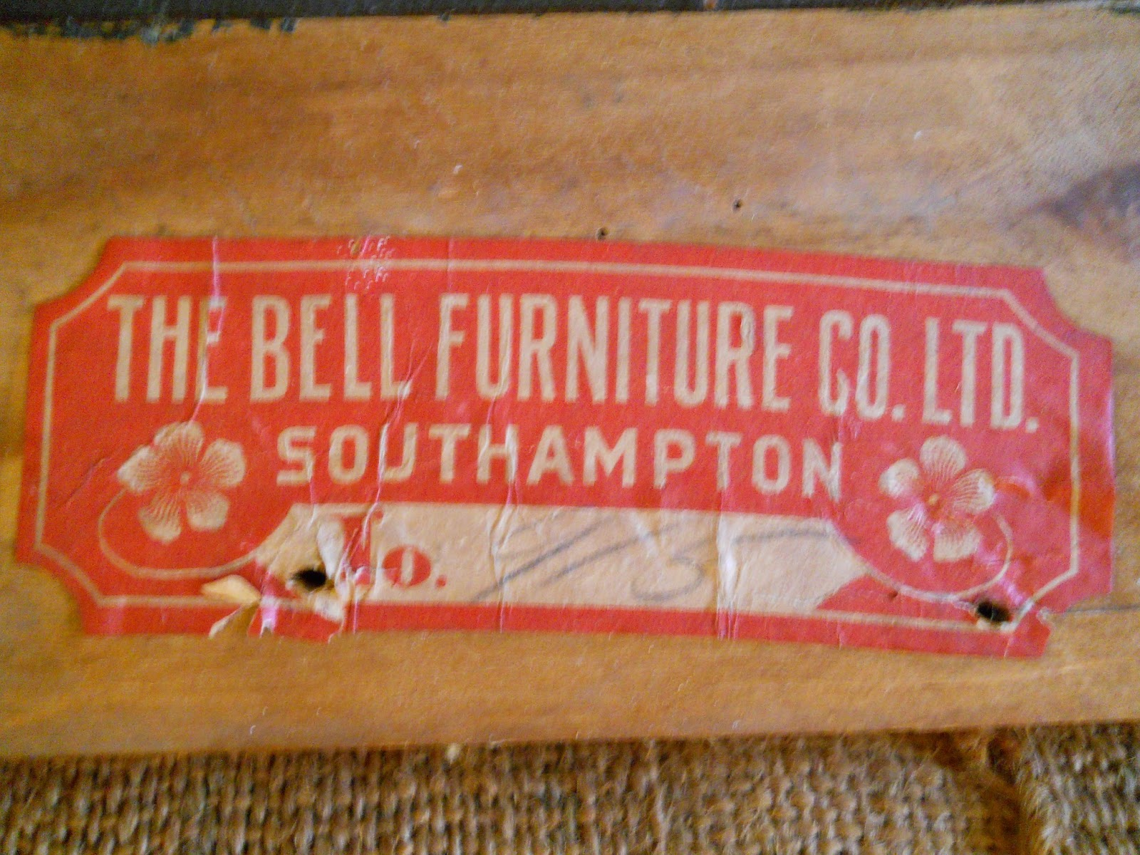 Church Key Vintage The Bell Furniture Company Oak T Back