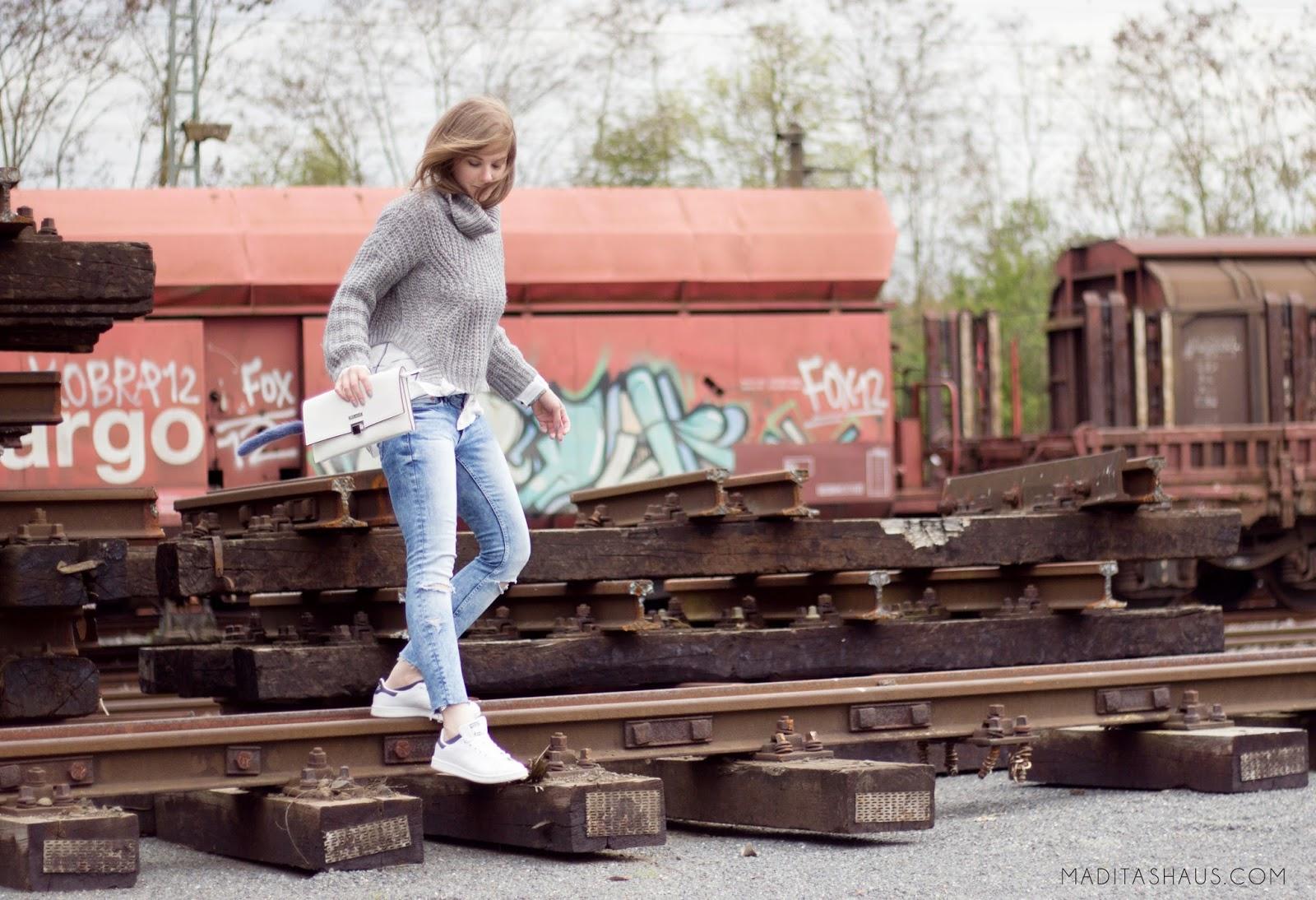 Diy Destroyed Jeans Selber Machen Maditas Haus Lifestyle Und